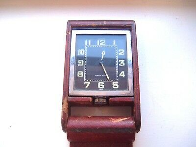 Jaeger- Le Coultre 8 Day Travel Clock. fully working