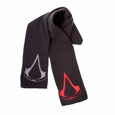 Official Licensed Assassin's Creed Logo Black Knitted Scarf