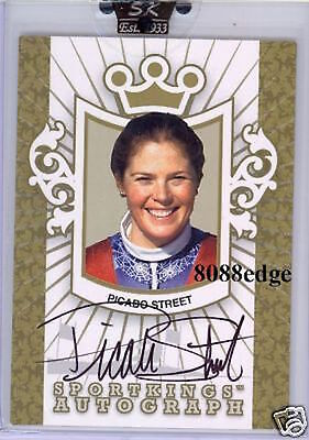 2007 Sport Kings Autograph Auto Gold: Picabo Street/10 Olympic Medalist Champion