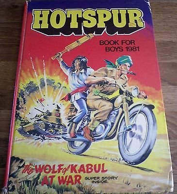 The HOTSPUR Book 1981 Annual