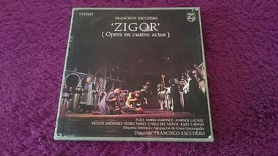 Zigor - Francisco Escudero , 3 × Vinyl, LP, Box Set , Spain , 1968 , ALB-320