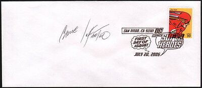 Carmine Infantino 2006 SDCC The Flash USPS FDI First Day Issue Super Hero Stamp