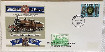 Bluebell Railway Fdc 1977 Issue