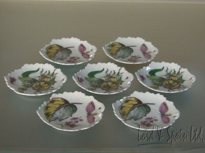 7 Mottahedeh THE EXOTIC PLANT Small Leaf Dishes-2 Designs