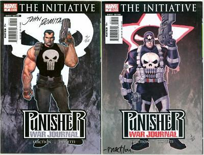 Punisher War Journal #7 Set Dynamic Forces Signed John Romita Sr Df Coa Netflix