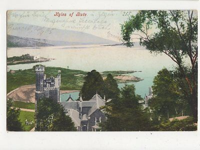 Kyles Of Bute 1905 Postcard 438a