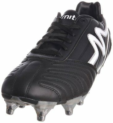 Mitre Invader Mid Rugby Boots Size Uk 8 Eu42 Us 9 /2 Spare Studs/key/ Ms5150