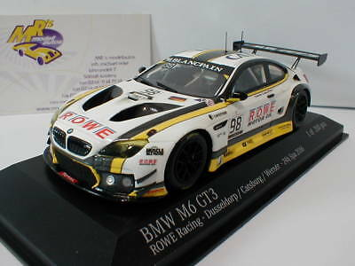 Minichamps 437162698 - BMW M6 GT3 ROWE Racing 24h. Spa 2016 No.98 Catsburg 1:43