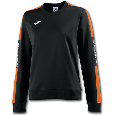 JOMA FELPA CHAMPION IV DONNA NERO-ARANCIO Uniforms