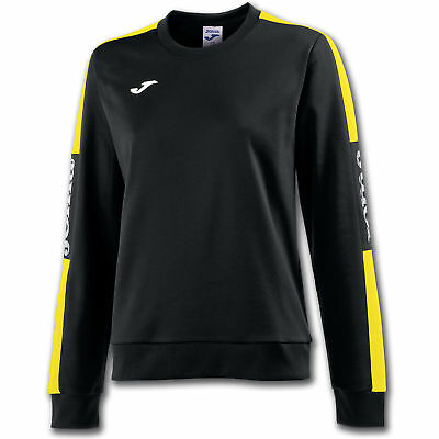 JOMA FELPA CHAMPION IV DONNA NERO-GIALLO Uniforms