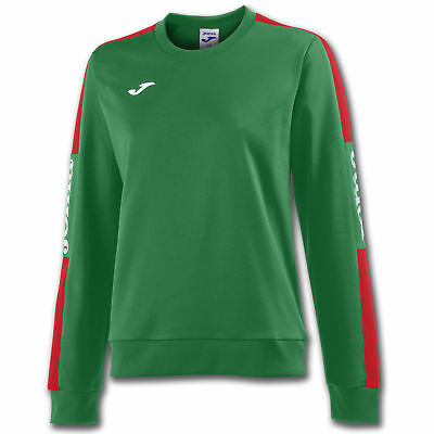 JOMA FELPA CHAMPION IV DONNA VERDE-ROSSO Uniforms