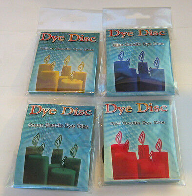 Candle Dyes Arts & Crafts  candlemaking Candlecraft various colours 28-11