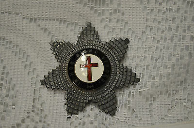 Vintage Masonic Knights Templar In Hoc Signo Vinces Sterling Pin