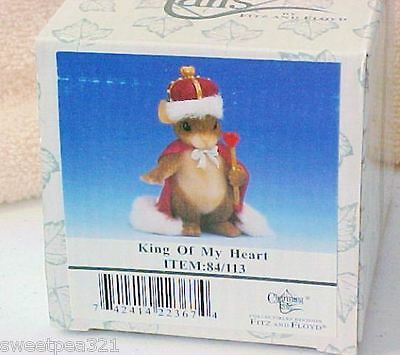 Charming Tails King of My Heart (Mouse) [Retired]