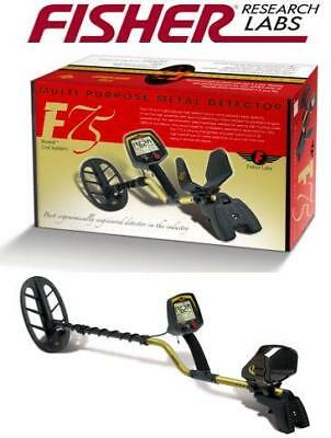 $1,249 Fisher F75 Pro Metal Detector with 11' DD Search Coil