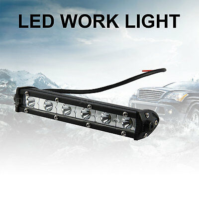 24W 6000K LED Work Light Bar Driving Lamp Fog Off Road SUV Car Boat Truck 4WD