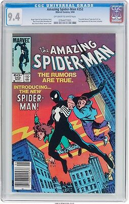 Amazing Spider-Man 252 - Cgc Nm 9.4 - 1St Appearance Of Black Costume (1984)