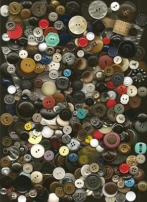 Over 1 Pound Box of Buttons