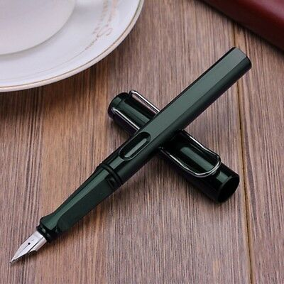 Jinhao 599-A Trim Green Fountain Pen Fine Nib Smooth Writing Ink Best Present