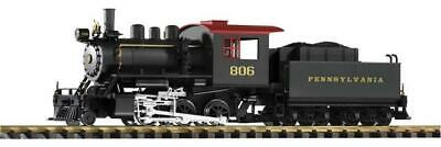 PIKO G-Dampflokomotive + Tender Mini-Mogul PRR, Analog Sound 38205