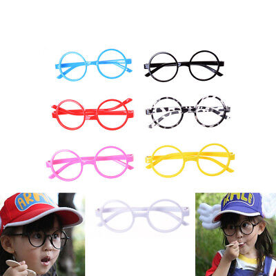 Cute Kids Glasses Without Lens Party Dress Cosplay Props Baby Frame Glasses Gift