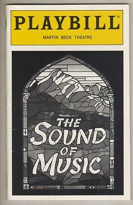 "Rebecca Luker  ""The Sound of Music""  Playbill  1998  Broadway  Revival"