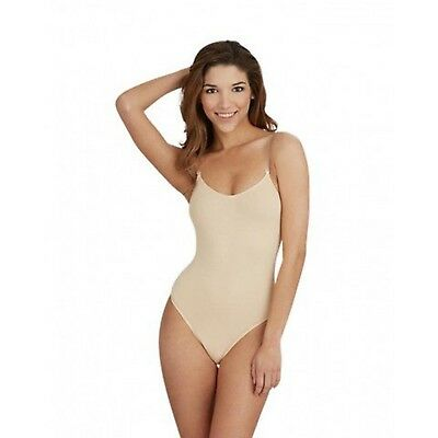 New Women's Capezio Overs & Unders Bodyliners Clear Straps 3532 Nude