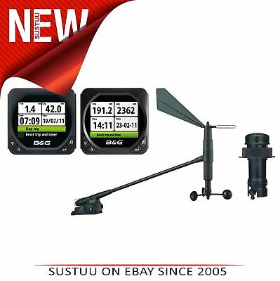 B&G Triton Twin Display│With Speed-Depth & Wind Sensor│Color LCD│For Sailing