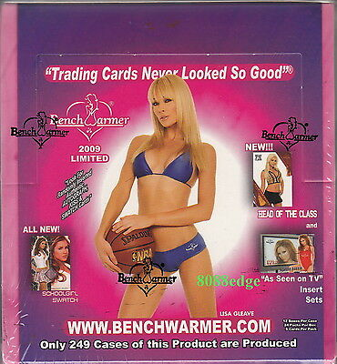 2009 Benchwarmer Limited Factory Sealed Box -Kiss/Bikini/Autograph/Swatch/Auto