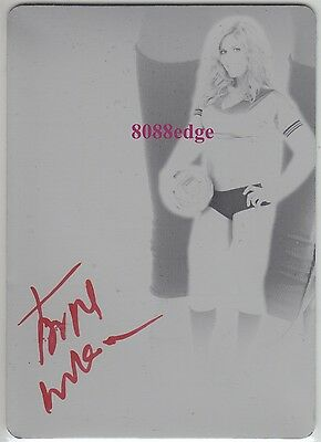 2012 Benchwarmer Soccer Auto: Torrie Wilson 1/1 Autograph Printing Plate Playboy