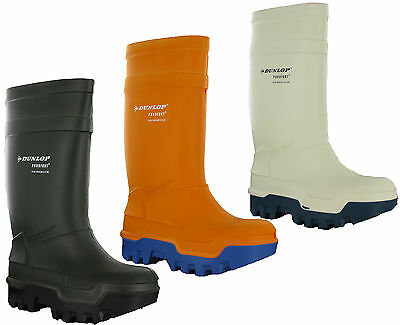 Dunlop Thermo Antistatic Full Safety -40 Insulated Rubber Wellington Ice Boots