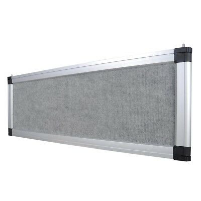 Header Panel Board Tradeshow School Office Display Aluminum Frame Flannelette