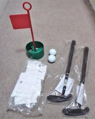 Boxed Jaques Clock Golf Set with 2 Telescopic Putters