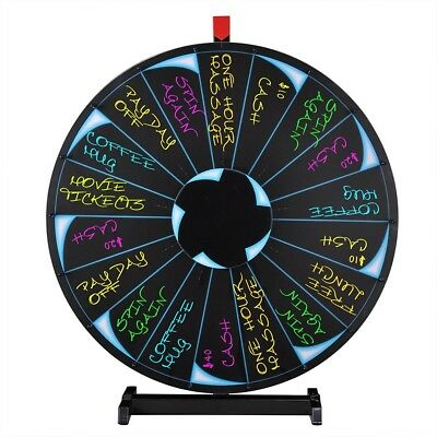 "WinSpin™ 30"" Prize Wheel Tradeshow Mall Party Kids Fortune Spin Xmas Game Show"