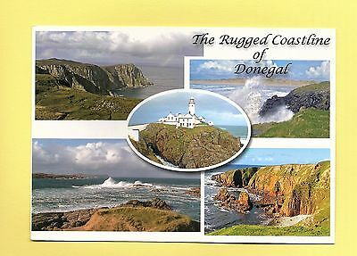 Postcard: The Rugged Coastline of Donegal - Multiview