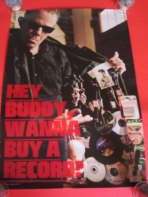 Tom Waits - Hey Buddy Wanna Buy A Record? RARE record store day poster