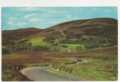 The Tomintoul Grantown Road Near Bridge Of Brown Old Postcard 596a