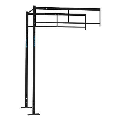 Set Estensioni Power Rack 4 Pu Station 2 Upright Bar Single Chin Up Crosstrain
