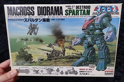 Macross Diorama DESTROID SPARTAN Naval battle  ARII MODEL KIT ROBOTECH
