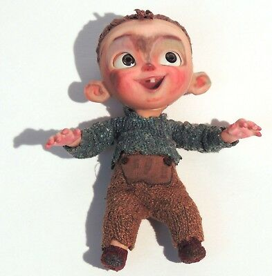 ESL977. THE BOXTROLLS Baby Eggs Original Animation 4 inch Puppet by LAIKA (2014)