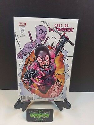 Edge of the Venomverse #2 Gwenpool Variant NM Marvel Comics Bunn Spider Man