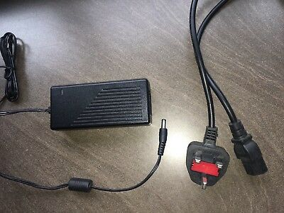 24V 4 pin power supply, mains adapter for Edge 10 monitor Genuine And Original