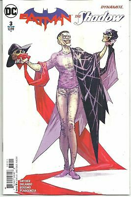 Batman The Shadow #3 Joker DC Dynamite Comic 1st Print 2017 NM ships in T-Folder