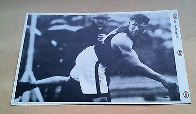 Munich 1972 Olympic Games Esso Sticker #7 Jim Thorpe 1912 Usa Track Team Jt Vgc