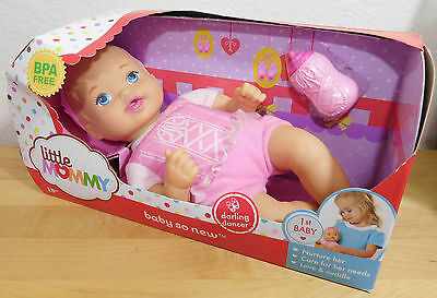 Baby So New Pink Darling Dancer 1st Baby Doll Little Mommy Soft Body NEW