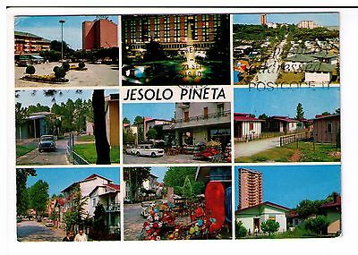 Postcard: Multiview - Jeslo Pineta, Italy
