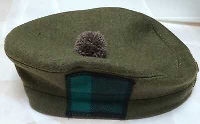 Tailored ToS, RRS Scottish Tam O Shanter Hat, Scotland Bonnet, Army, Military