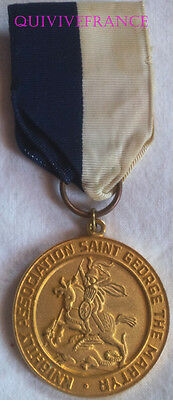 Dec3996 - Medaille Association Chevaleresque De Saint-Georges Martyr