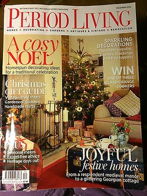 Period Living homes/ house/lifestyle/magazine, December 2015