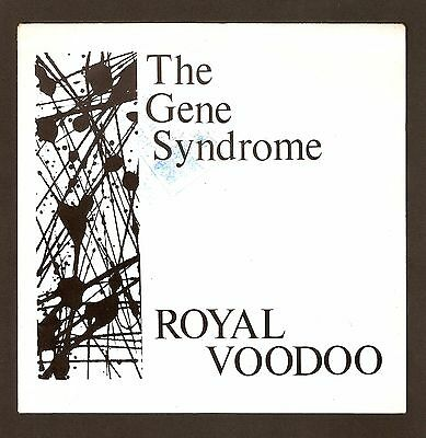 "The Gene Syndrome  - Royal Voodoo Bw Phenomenal Sky  7"" Vinyl 1988 A1/B1 Goth"
